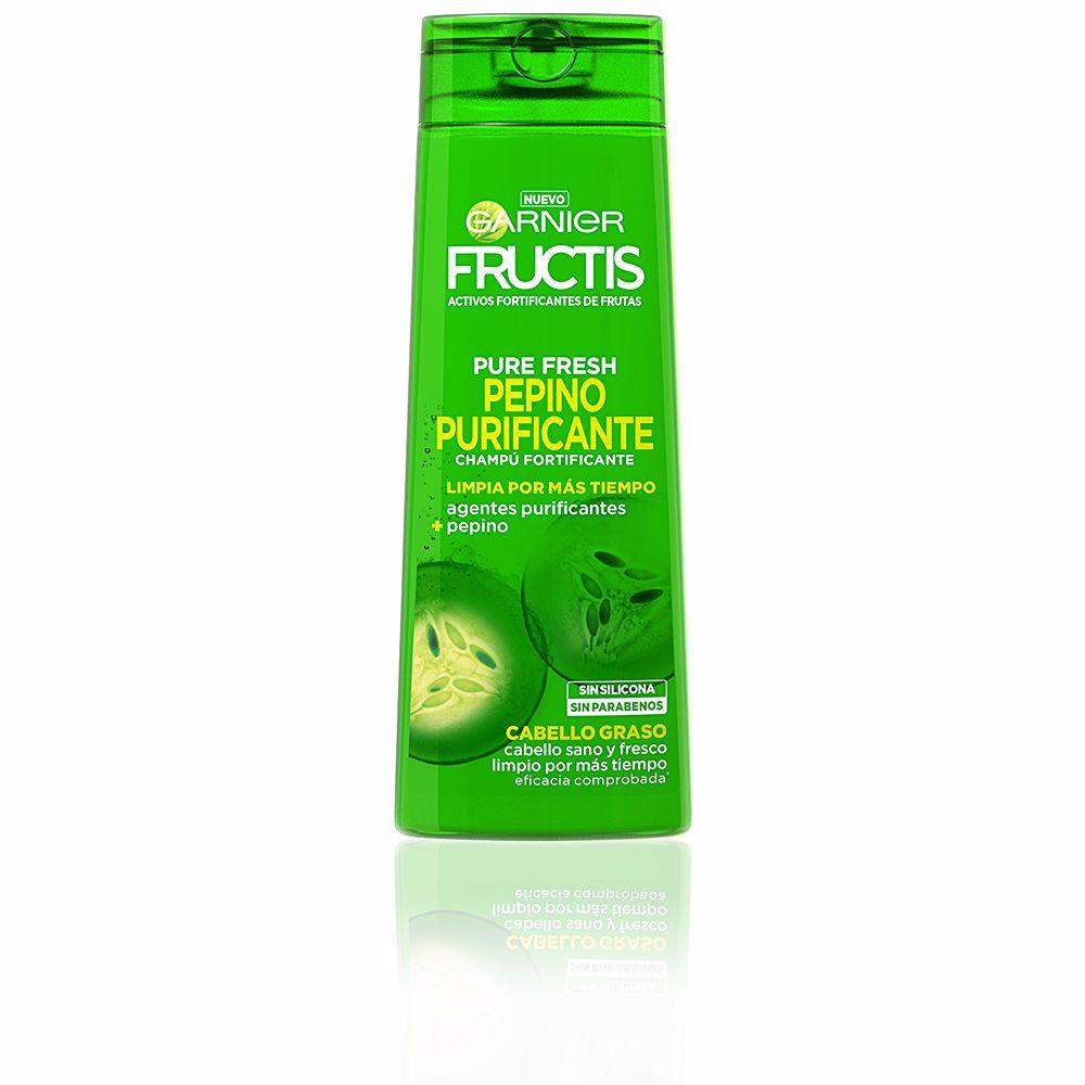 FRUCTIS PURE FRESH pepino purificante champú