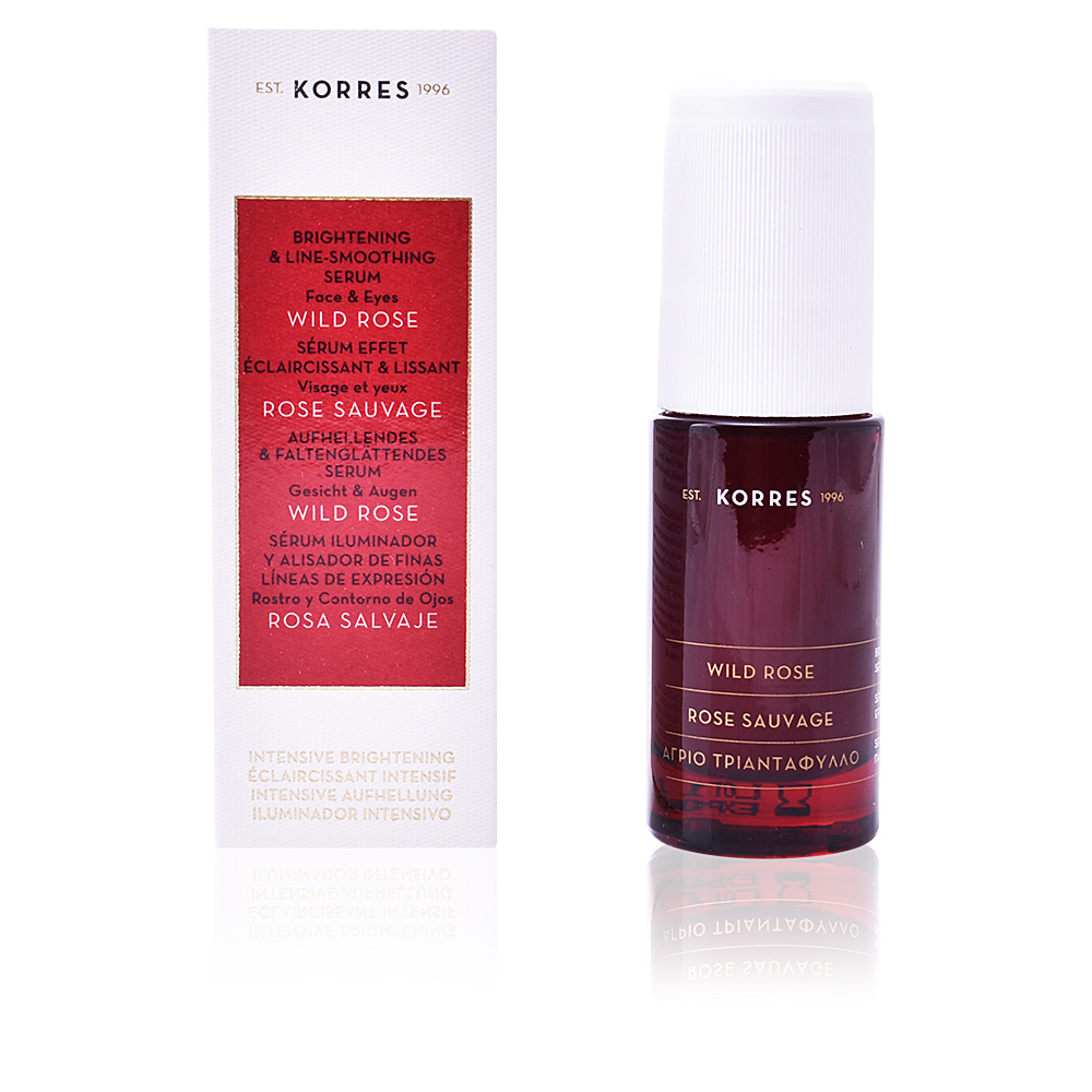 WILD ROSE brightening & line-smoothing serum
