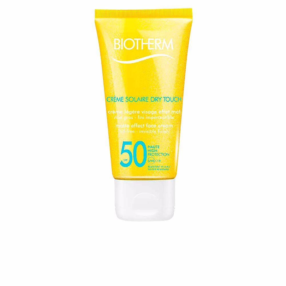 SUN crème solaire dry touch face cream SPF50