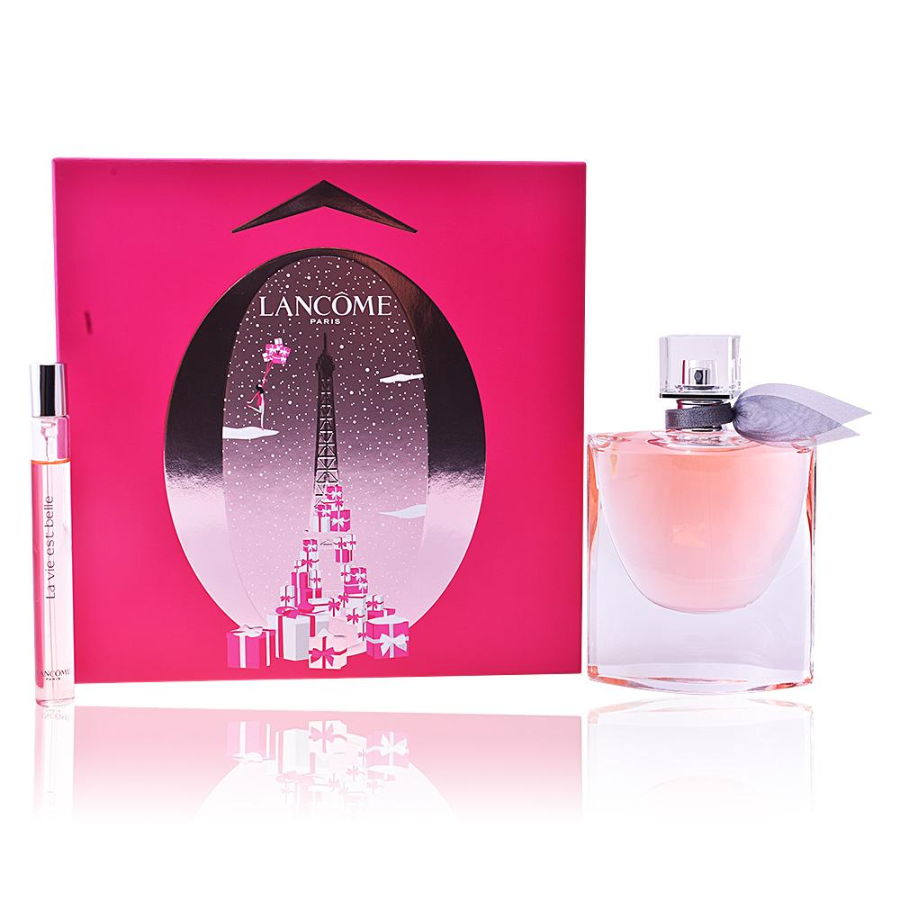 lanc me parfums la vie est belle coffret sur perfume 39 s club. Black Bedroom Furniture Sets. Home Design Ideas