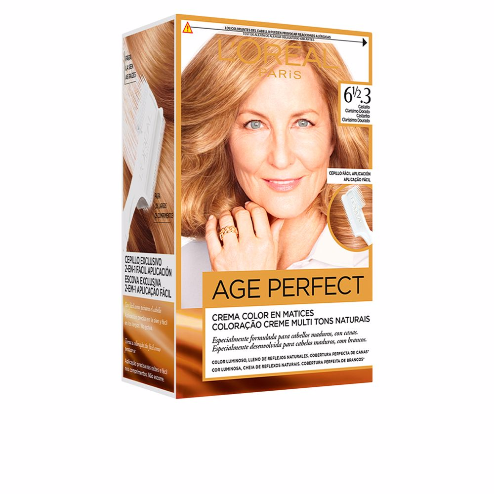 EXCELLENCE AGE PERFECT #61/2,3-castaño clarisimo dorado