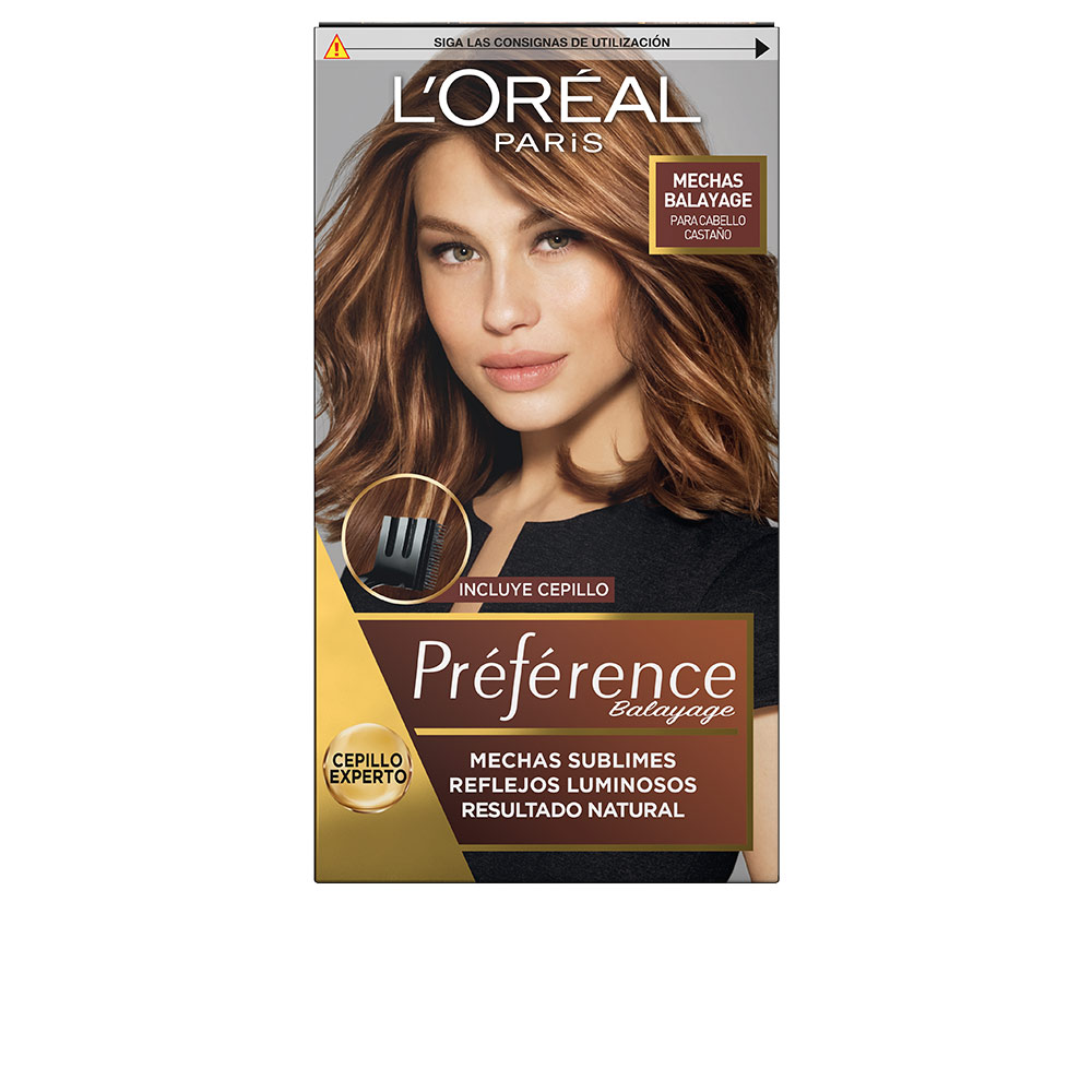 PRÉFÉRENCE MECHAS SUBLIMES #004-brown to light blonde