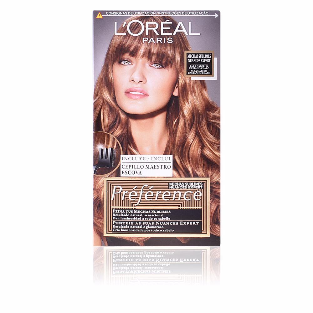 PRÉFÉRENCE MECHAS SUBLIMES #003-light brown to dark blonde