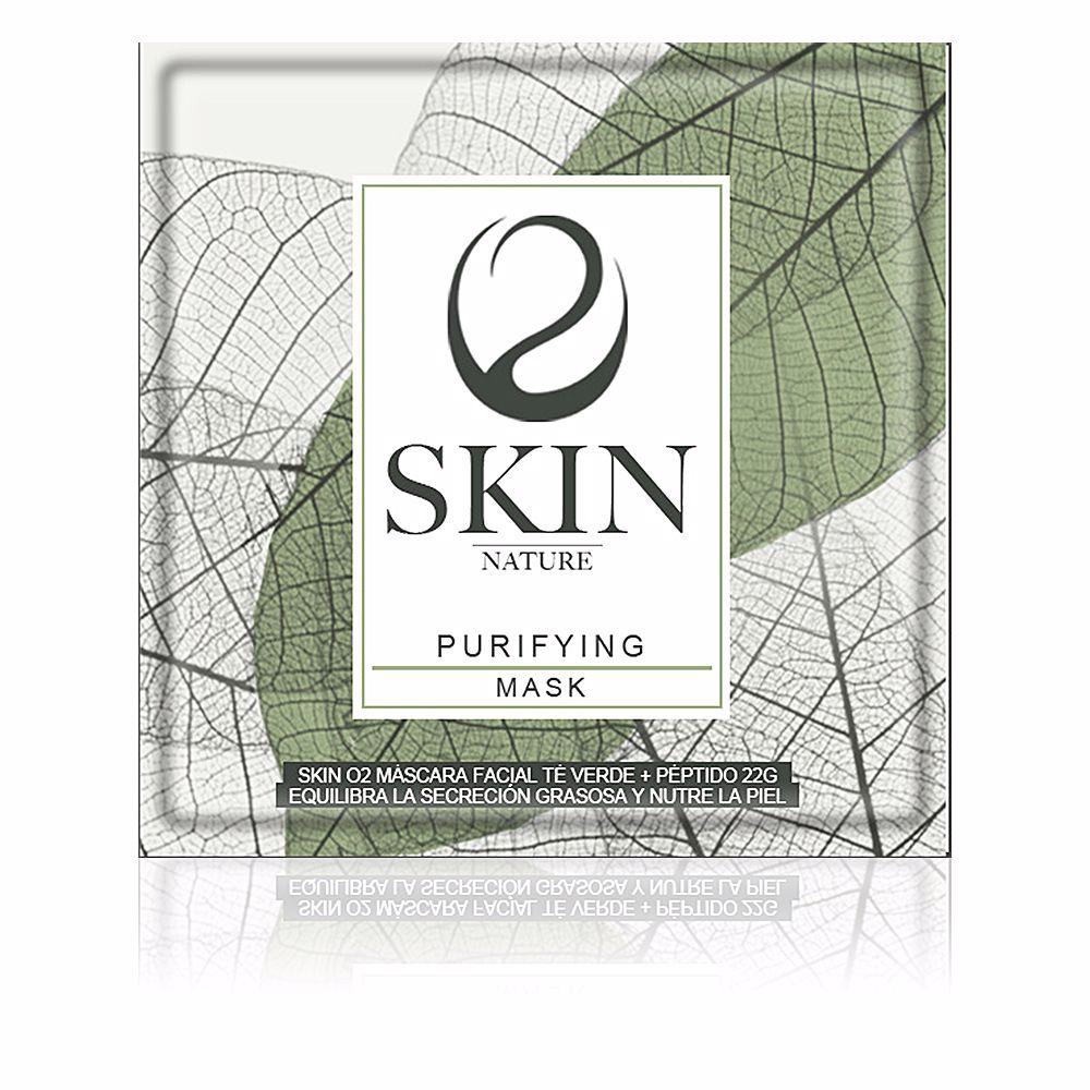 SKIN O2 máscara facial té verde + peptido