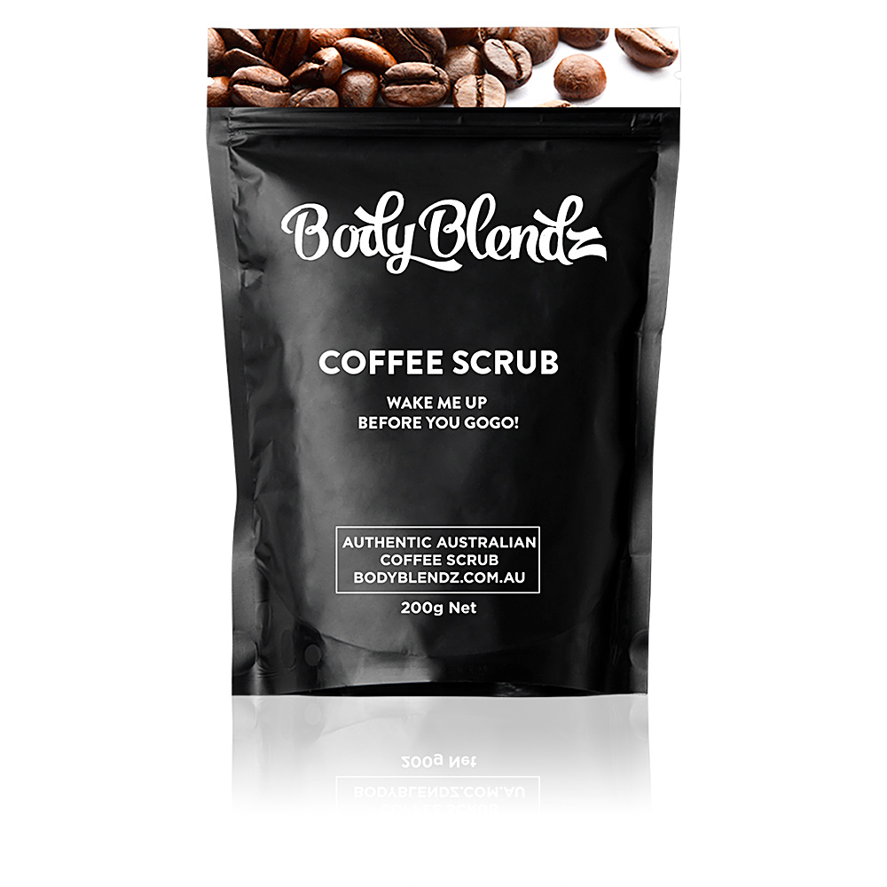 COFFEE WAKE ME UP BEFORE YOU GOGO! natural body scrub
