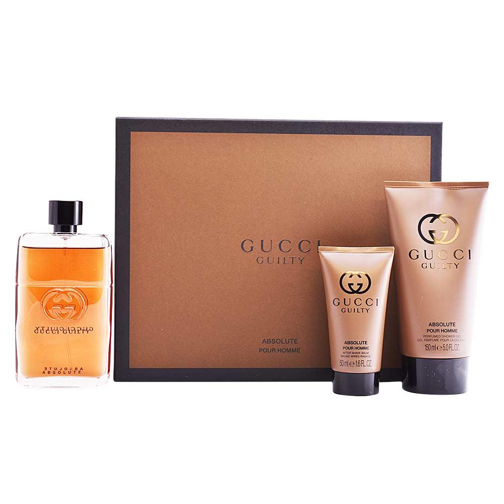 Estuche de Perfume para hombre. 1 Opiniones. GUCCI GUILTY ABSOLUTE LOTE 4ea58cbbe42