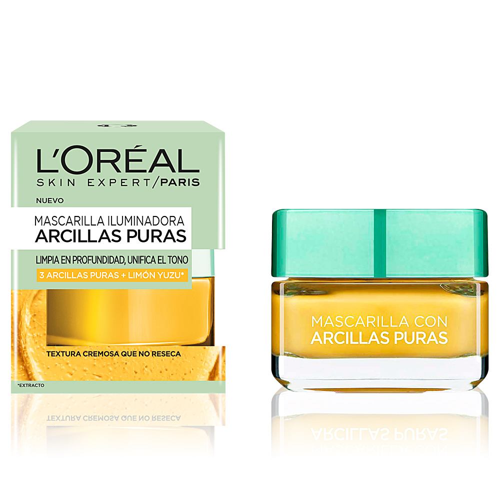 ARCILLAS PURAS limón yuzu mascarilla iluminadora