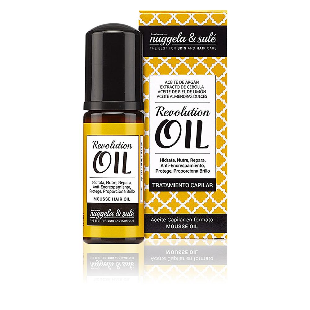 REVOLUTION mousse hair oil