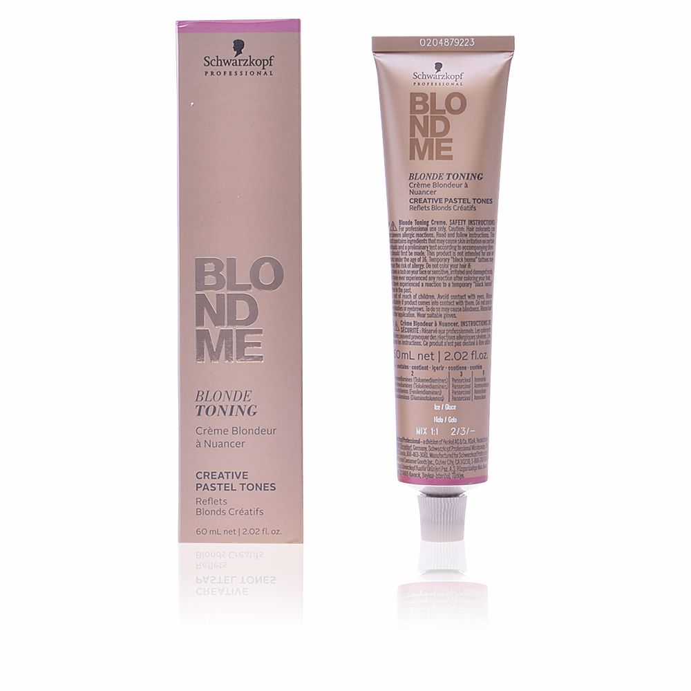 BLONDME blonde toning #ice