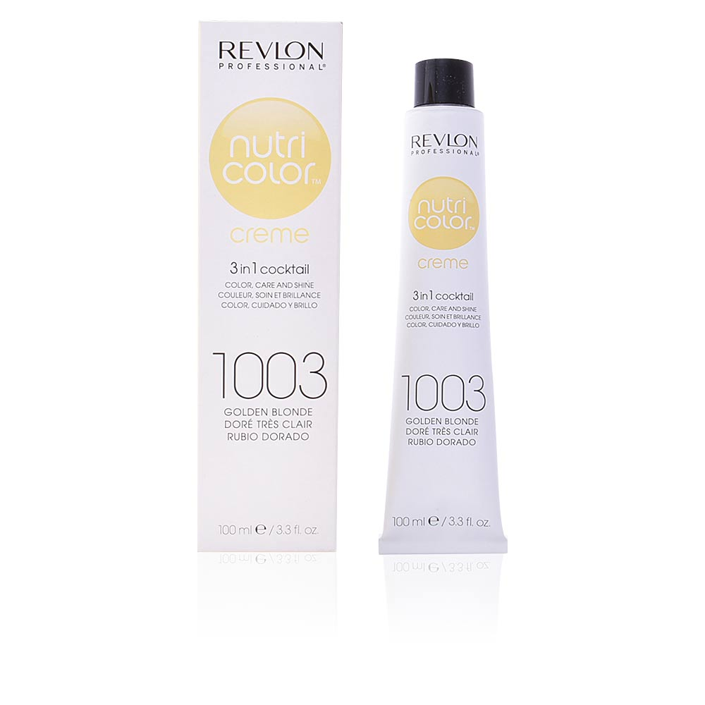 Revlon Haarfarbe Nutri Color Creme 1003 Golden Blonde Products