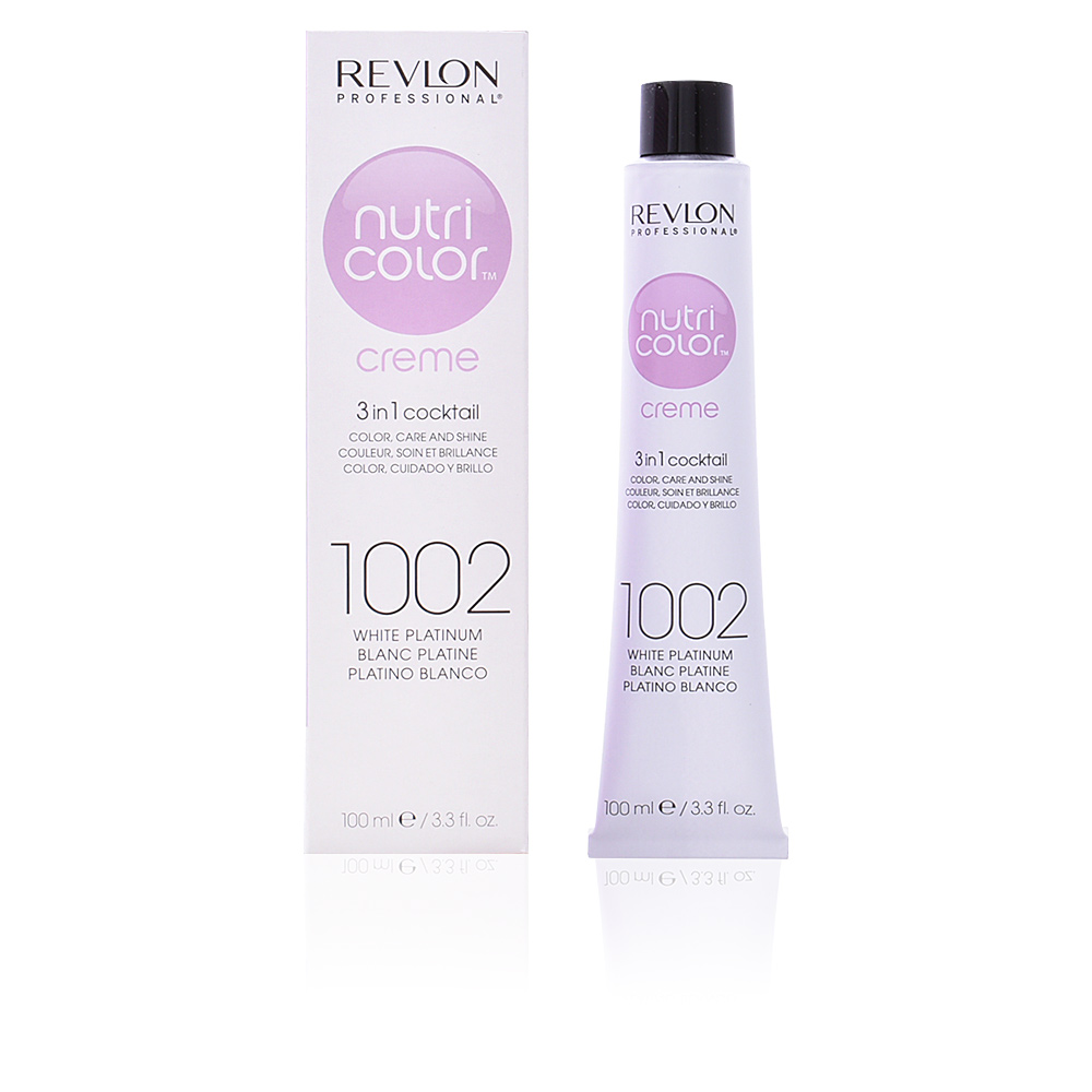 Revlon Nutri Color Creme 1002 White Platinum Haarverf In Perfumes Club