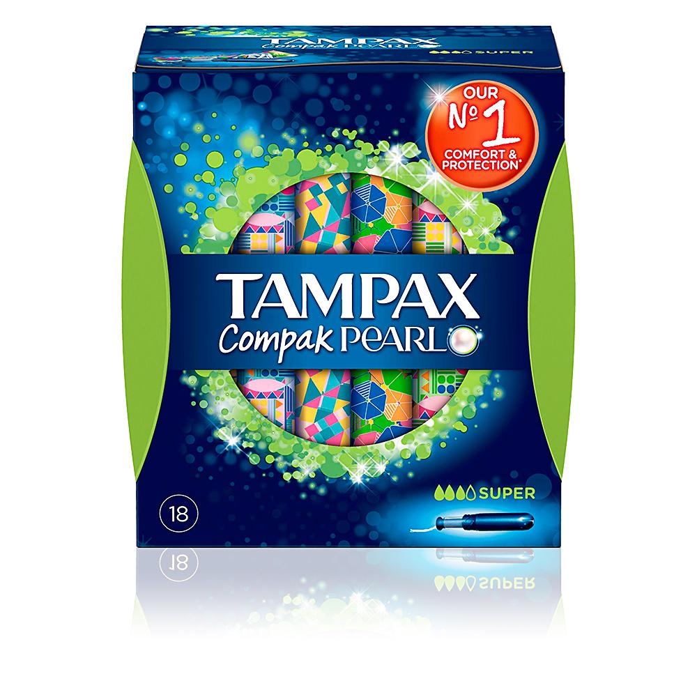 TAMPAX PEARL COMPAK tampon super