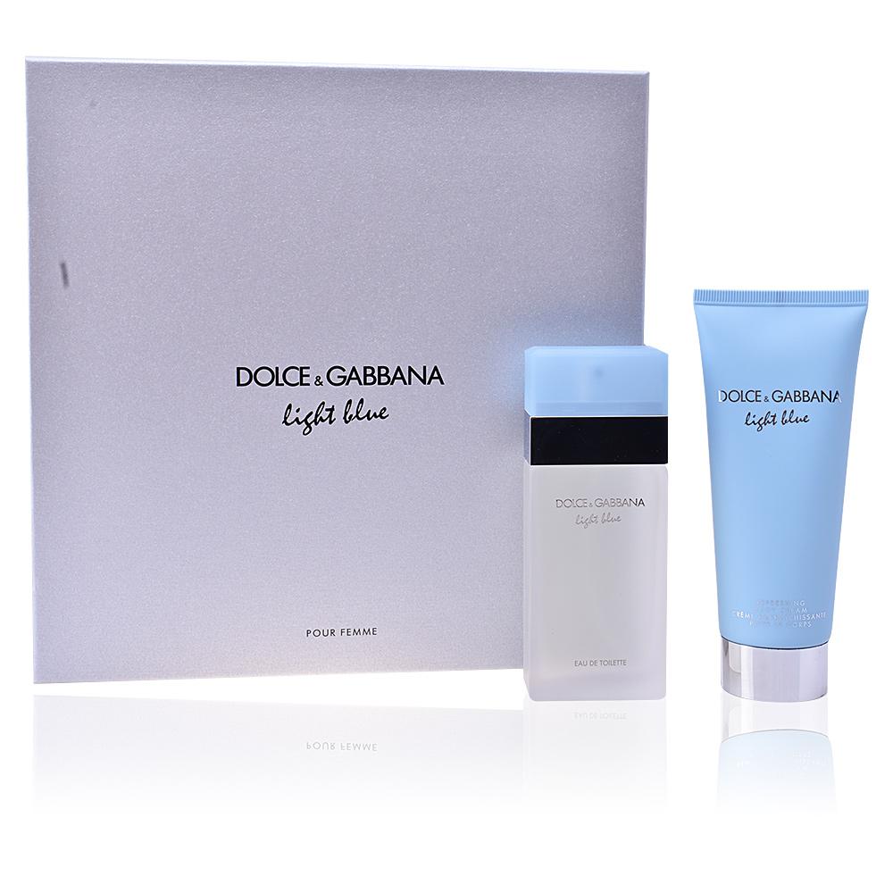 Dolce Amp Gabbana Eau De Toilette Light Blue Pour Femme Set