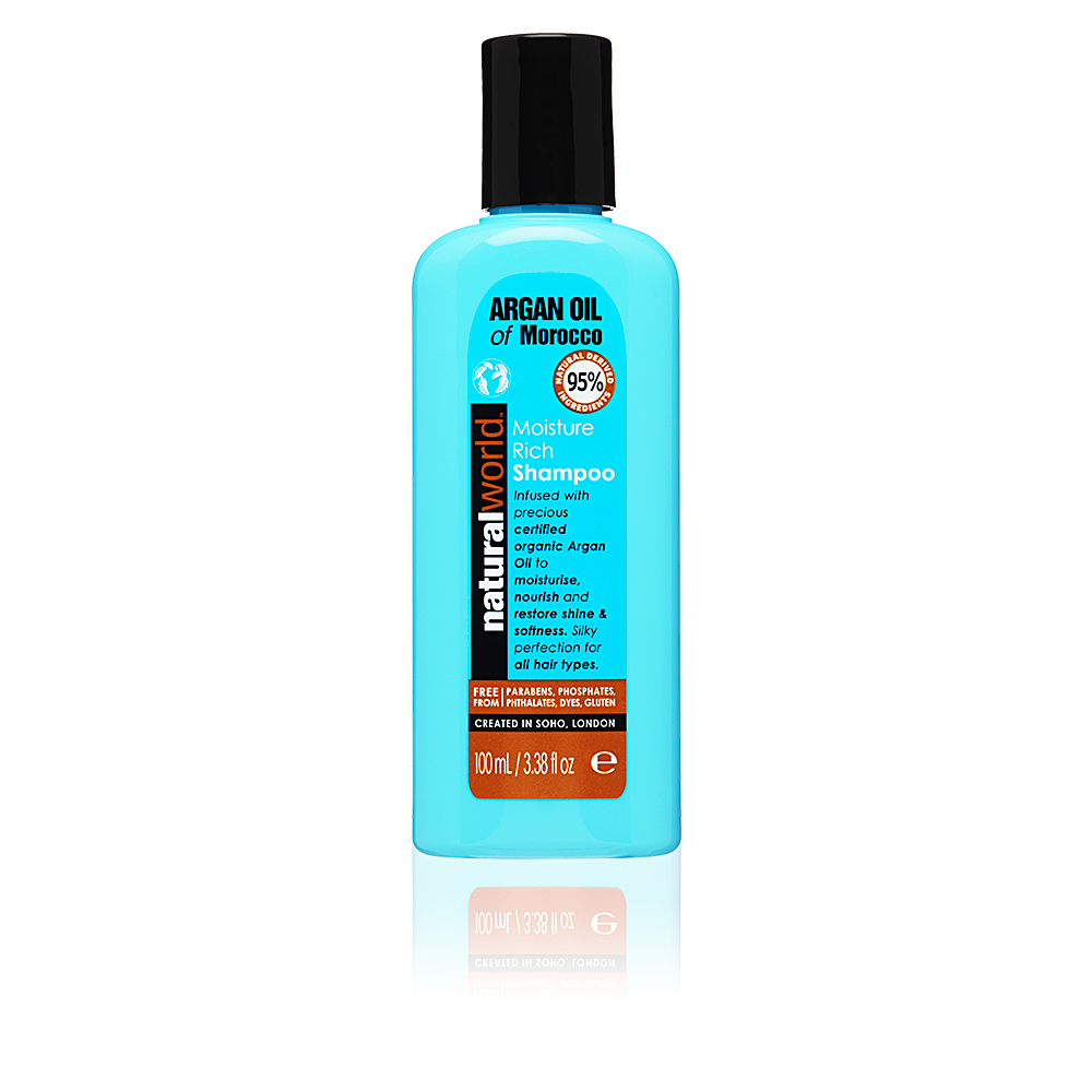MOROCCAN ARGAN OIL moisture rich shampoo