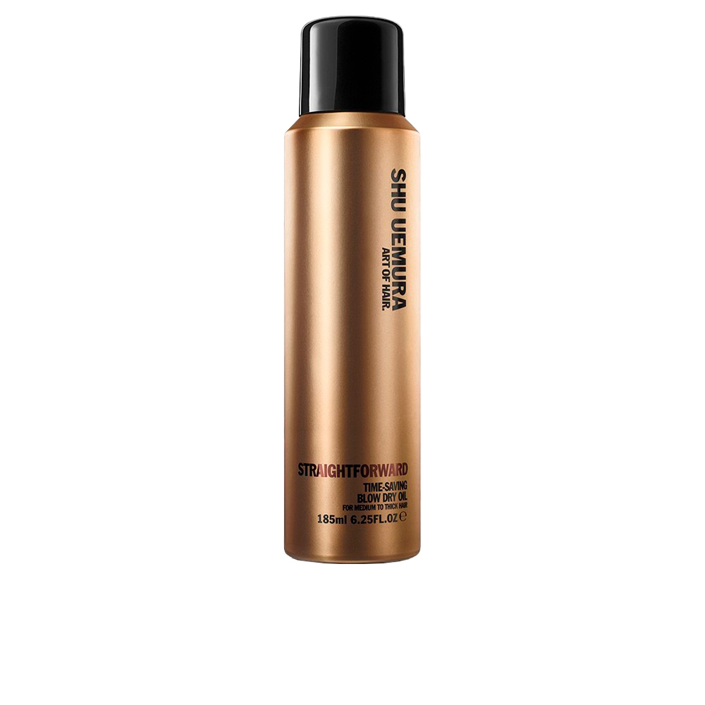 STRAIGHTFORWARD time-saving blow dry oil