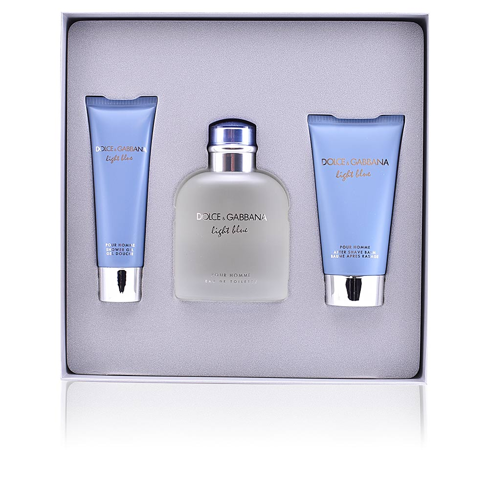 Dolce   Gabbana Eau de Toilette LIGHT BLUE POUR HOMME SET products ... ca66717818ea