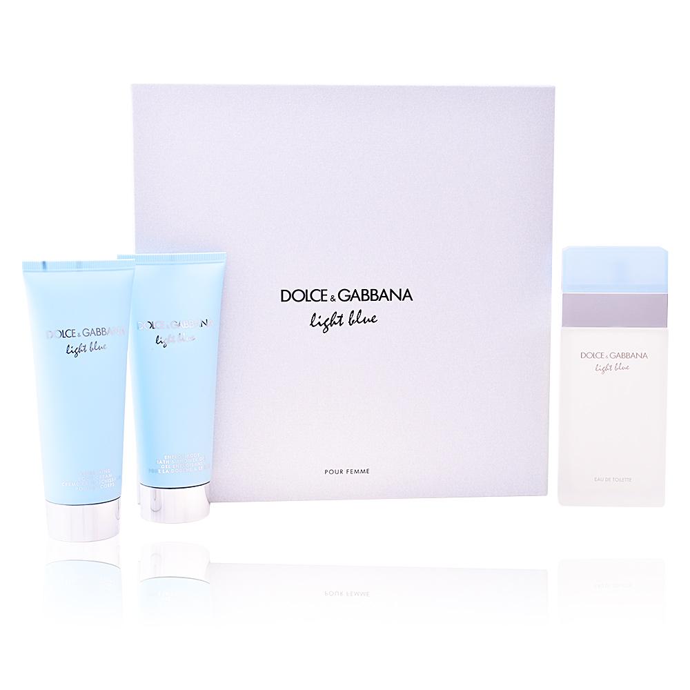 Dolce Amp Gabbana Parfums Light Blue Pour Femme Coffret Sur