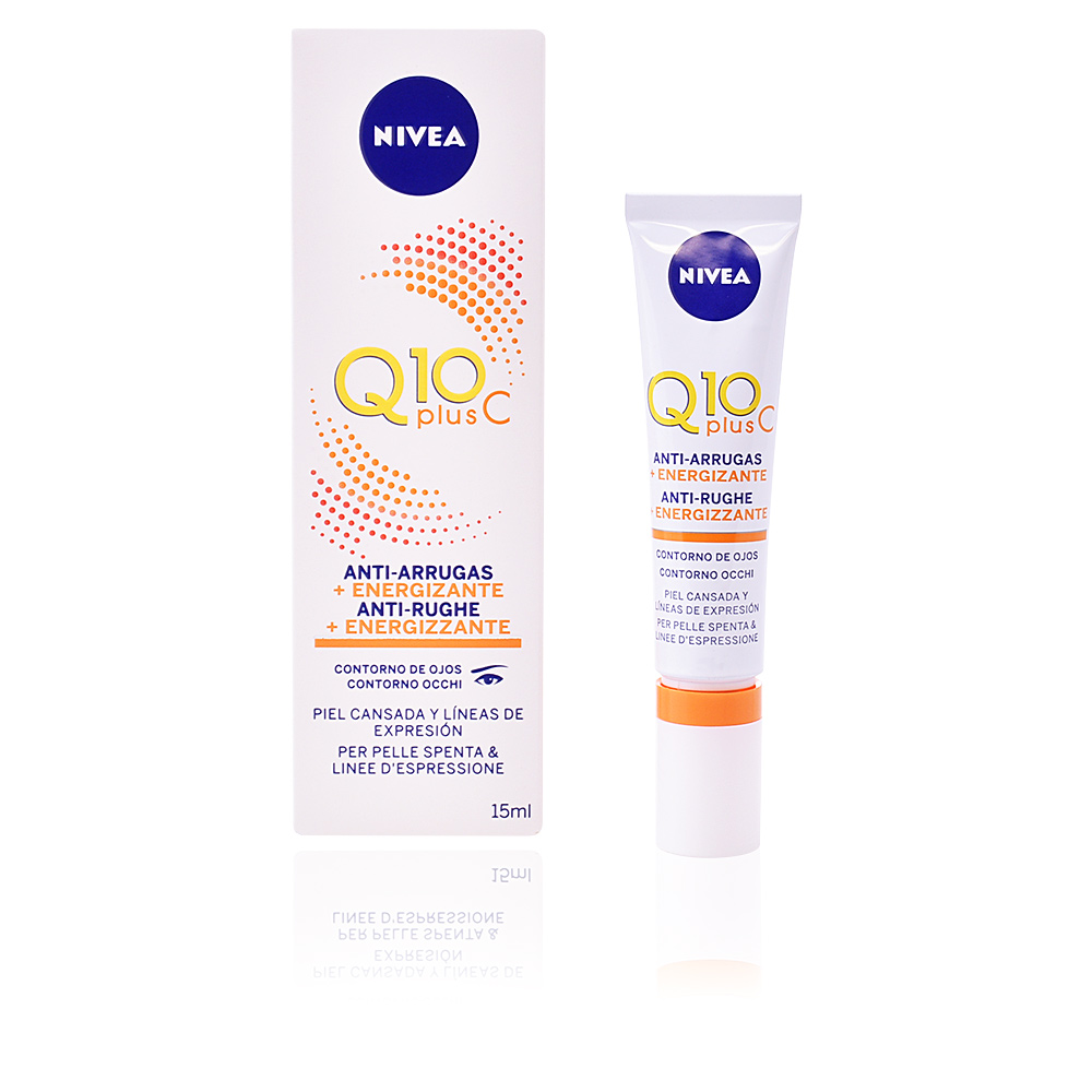 Q10+ anti-arrugas ojos energizante