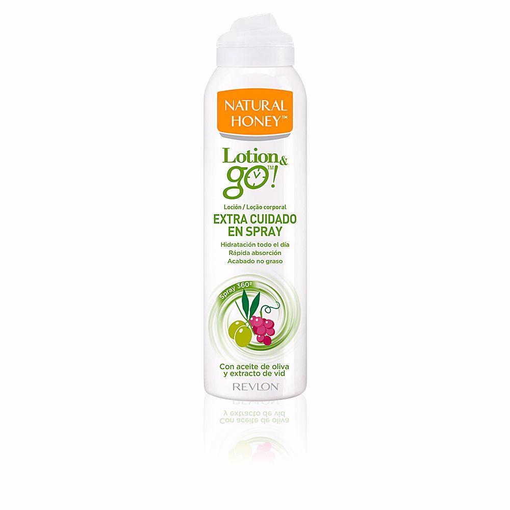 LOTION & GO! leche corporal extra cuidado en spray