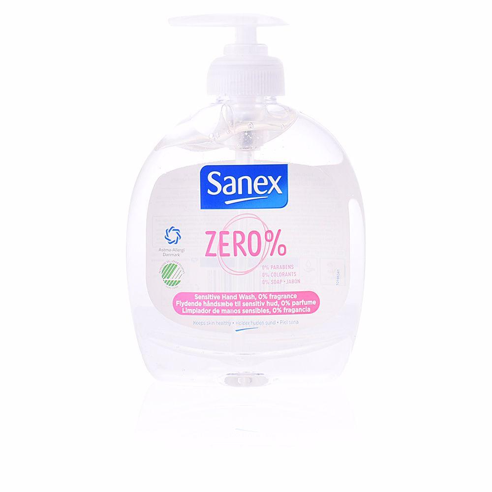 Sanex Hand Soap Zero Sensitive Jab 243 N Manos Dispenser