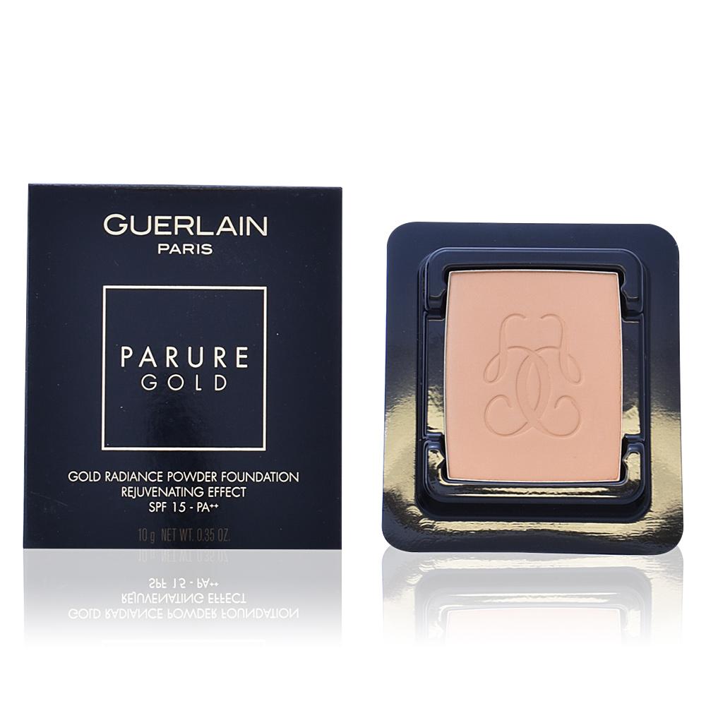 Guerlain Compact base PARURE GOLD fond de teint compact ...