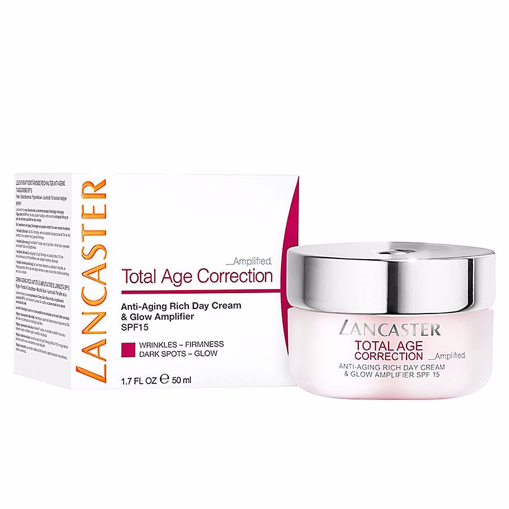 TOTAL AGE CORRECTION anti-aging rich day cream SPF15