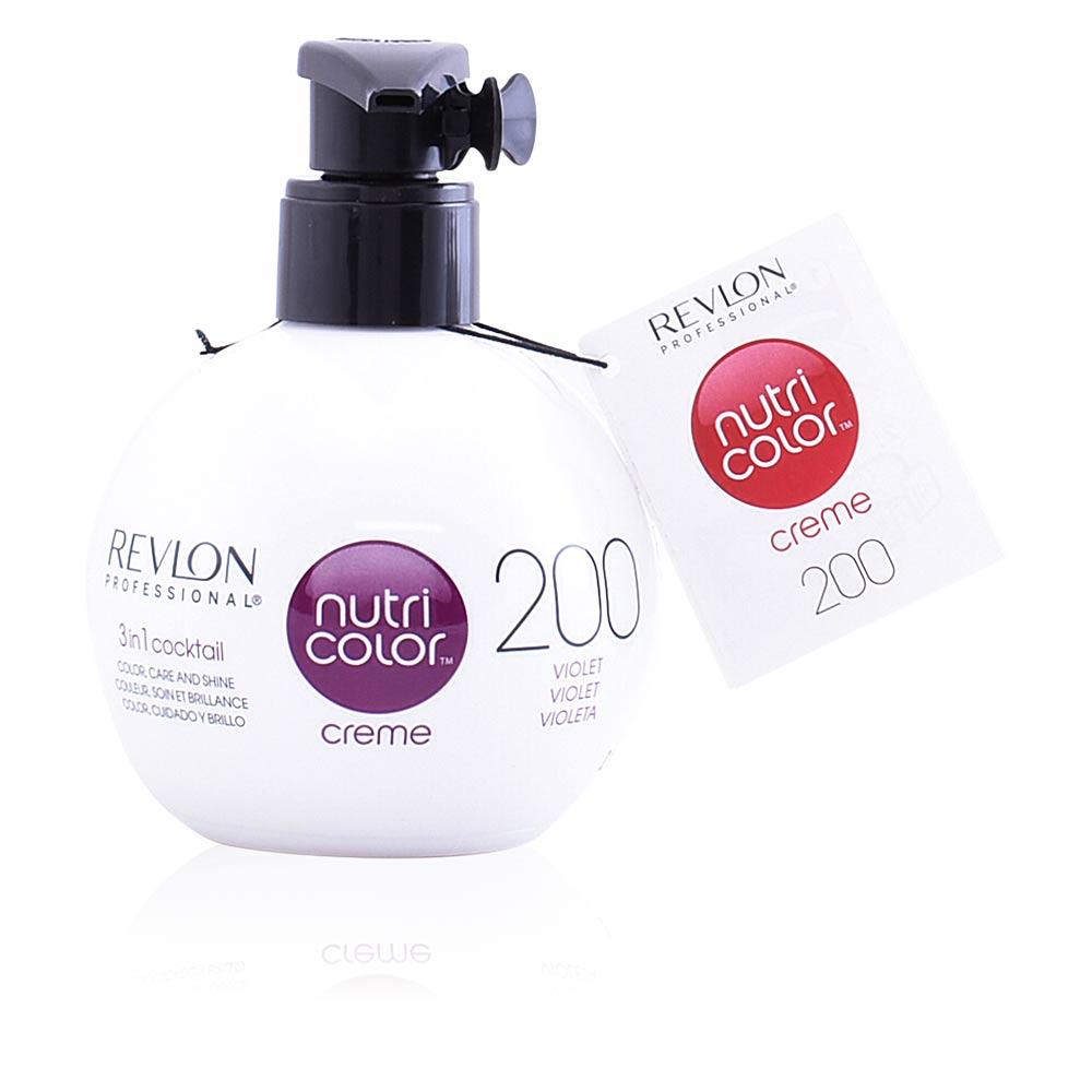 Revlon Haarfarbe Nutri Color Creme 3 In 1 Cocktail 200 Violet
