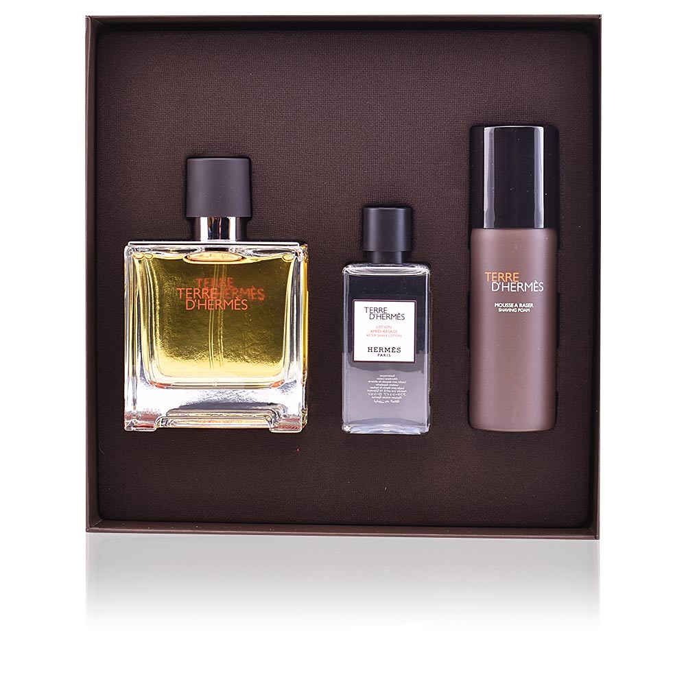 herm s perfumes terre d 39 herm s pure perfume set products. Black Bedroom Furniture Sets. Home Design Ideas