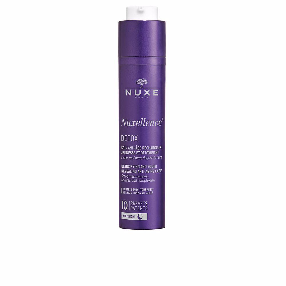 NUXELLENCE detox soin nuit anti-âge rechargeur jeunesse