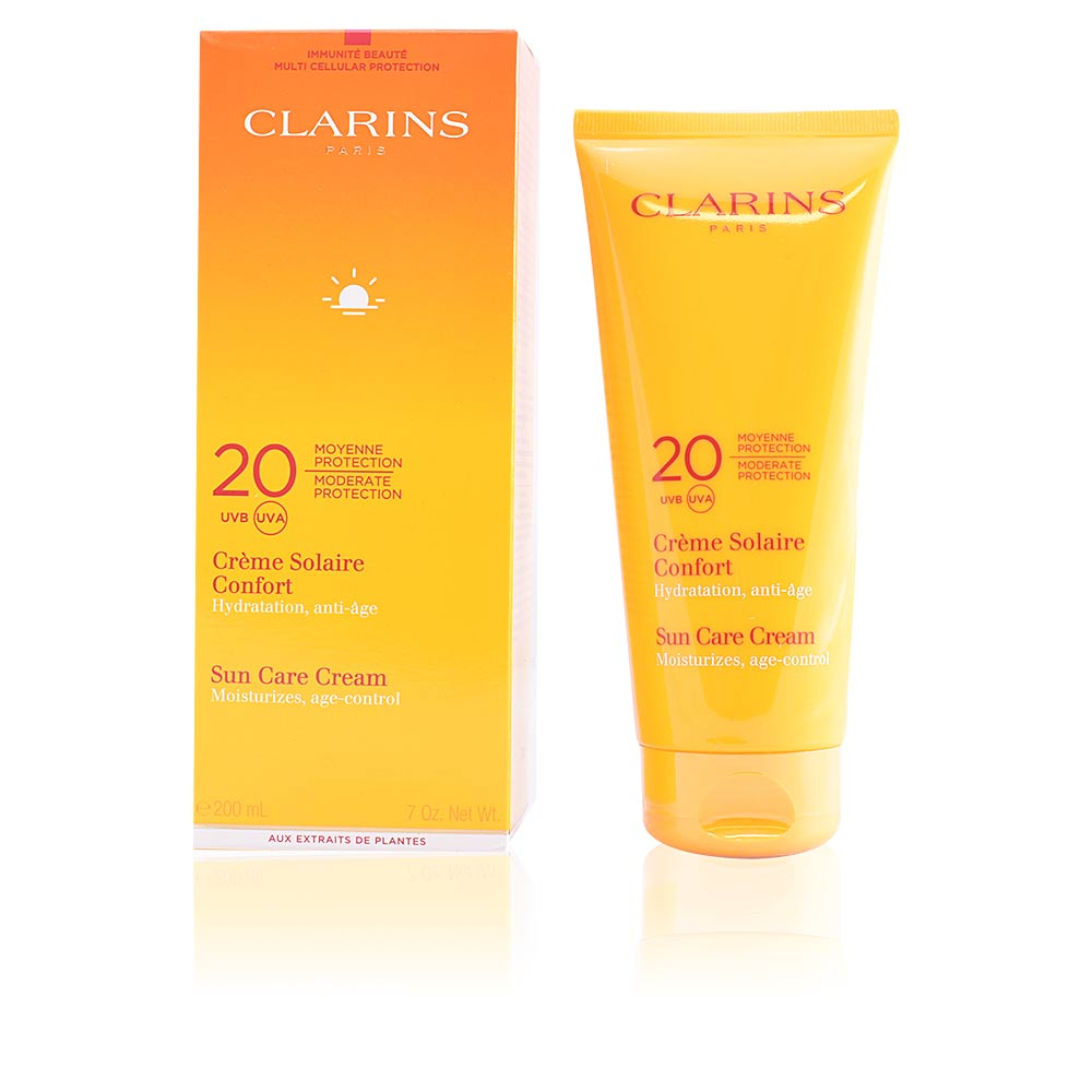 Clarins Sun Care Sun Cr 232 Me Solaire Confort Spf20 Products