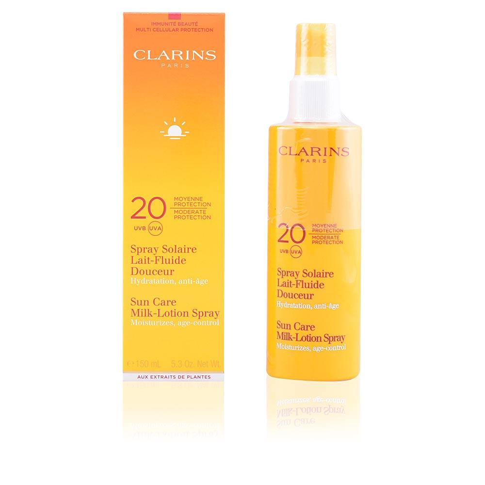 SUN spray solaire lait-fluide douceur SPF20