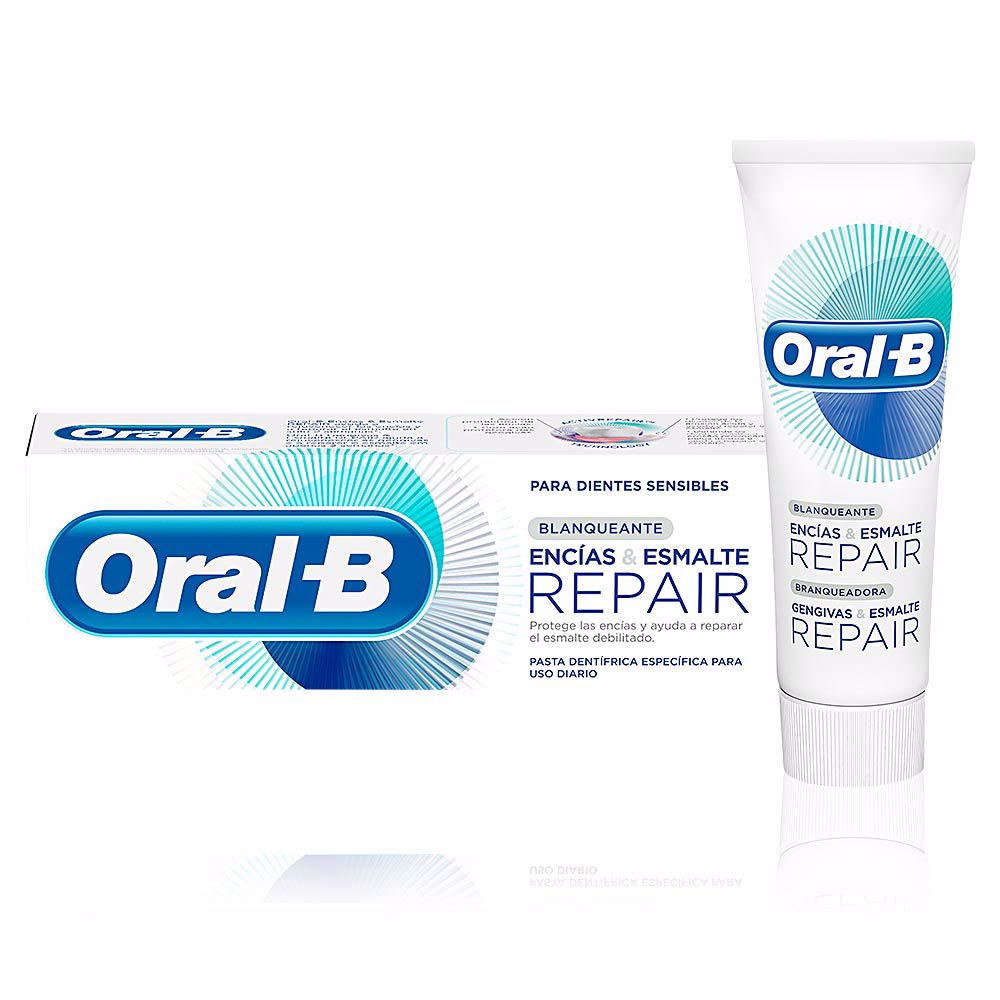 ENCIAS & ESMALTE REPAIR blanqueante pasta dentífrica