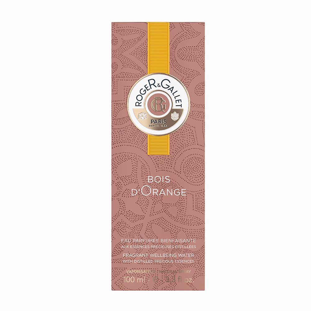 BOIS D'ORANGE eau fraîche bienfaisante parfumée