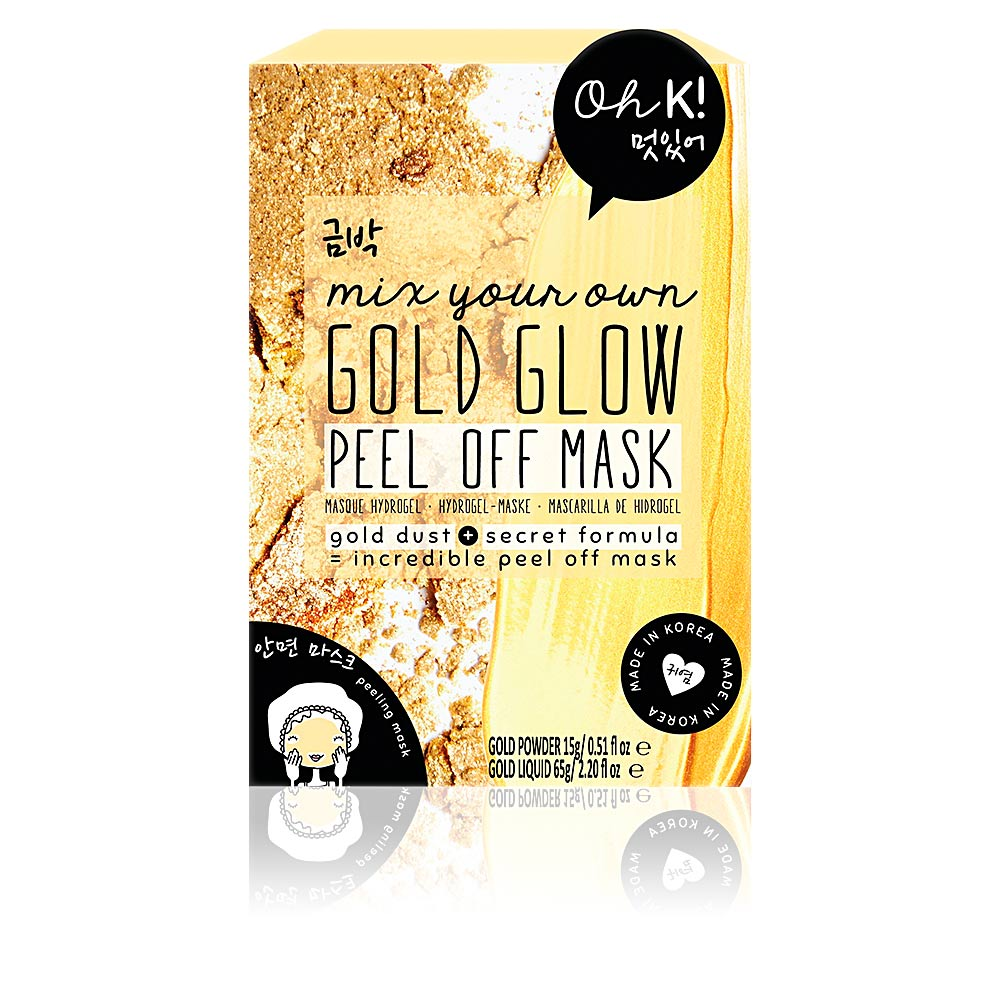 GOLD GLOW PEEL OFF mix your own face mask