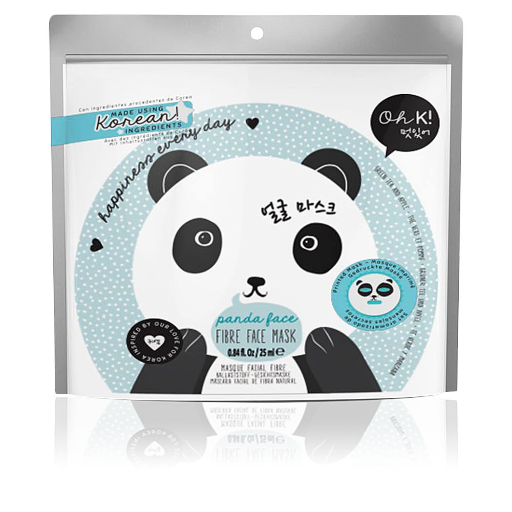 PANDA FACE fibre face mask