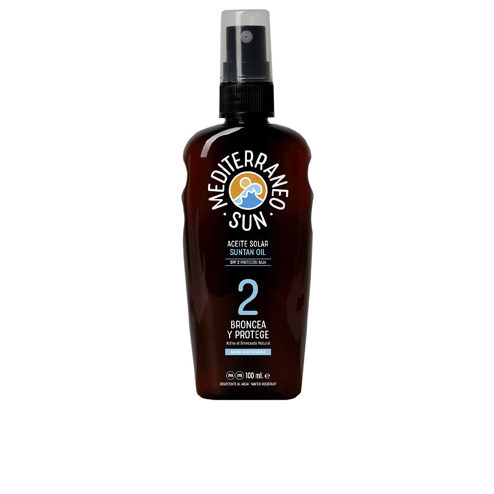 CARROT suntan oil dark tanning SPF2