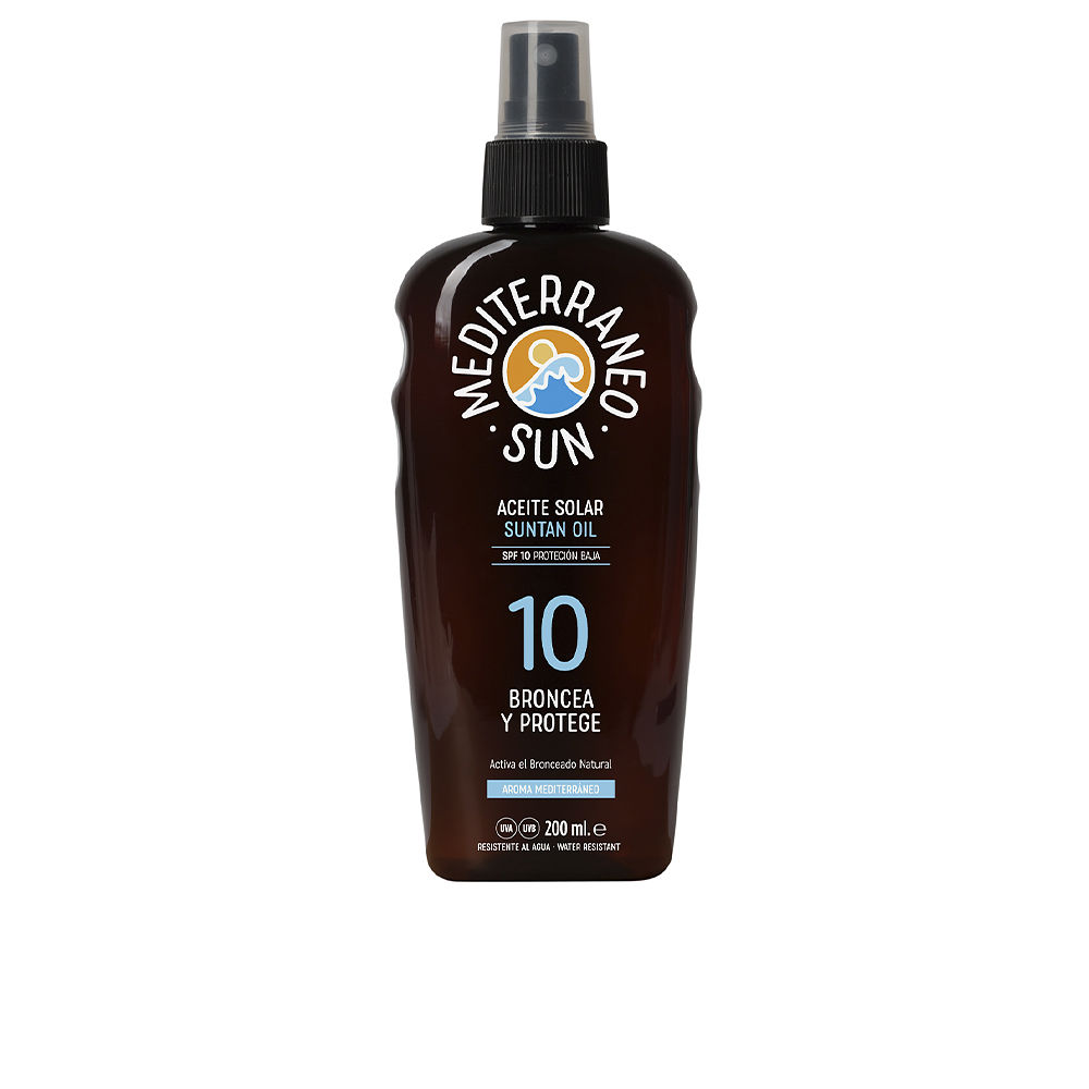 CARROT suntan oil dark tanning SPF10