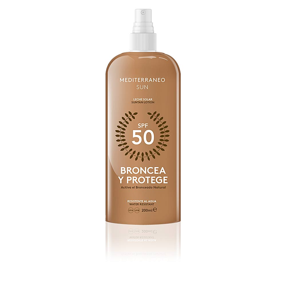 BRONCEA Y PROTEGE leche solar SPF50