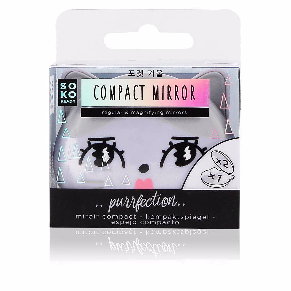 COMPACT MIRROR regular and magnifying mirrors
