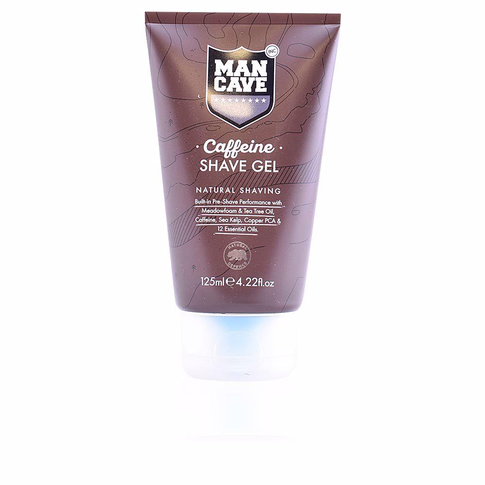 CAFFEINE SHAVE GEL natural shaving