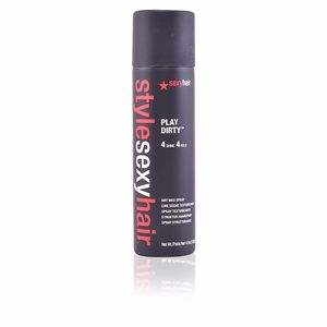 Producto de peinado STYLE SEXYHAIR play dirty dry wax spray Sexy Hair