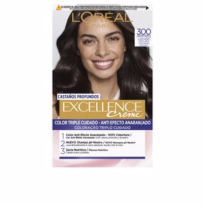 Tintes EXCELLENCE BRUNETTE #300-true dark brown L'Oréal París