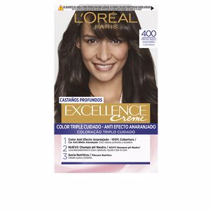 Tintes EXCELLENCE BRUNETTE #400-true brown L'Oréal París