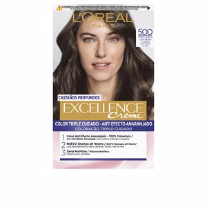 Tintes EXCELLENCE BRUNETTE #500-true light brown L'Oréal París