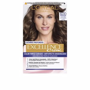Tintes EXCELLENCE BRUNETTE #600-true dark blonde L'Oréal París