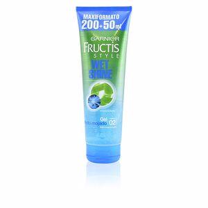 Producto de peinado FRUCTIS STYLE WET SHINE gel efecto mojado Garnier