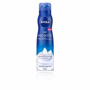 Hidratante corporal BODY MOUSSE NUTRITIVO piel seca a muy seca Nivea