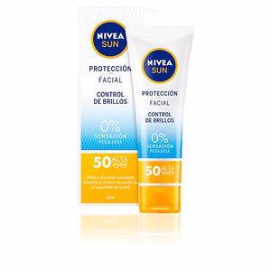 Facial SUN FACIAL control de brillos SPF50 Nivea
