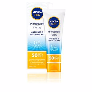Faciais SUN FACIAL anti-edad & anti-manchas SPF50 Nivea