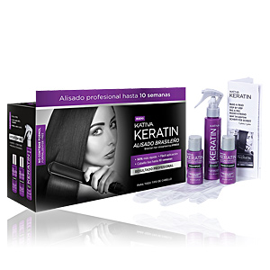 Keratin treatment KERATIN BRAZILIAN HAIR STRAIGHTENING VOORDELSET Kativa